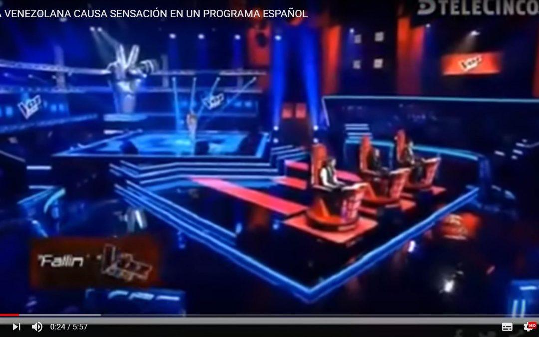 Carmen Pendones, la joven de 13 años que debutó en el programa La Voz Kids España