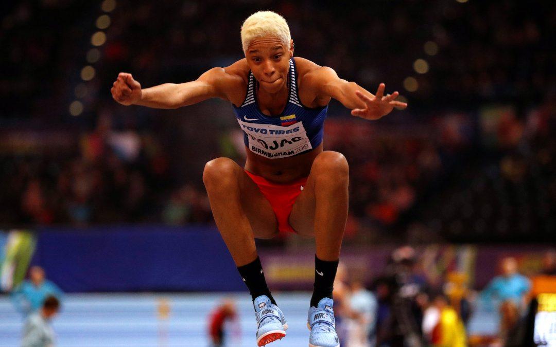 Yulimar Rojas oro en triple salto en el campeonato mundial, otro logro de la venezolana
