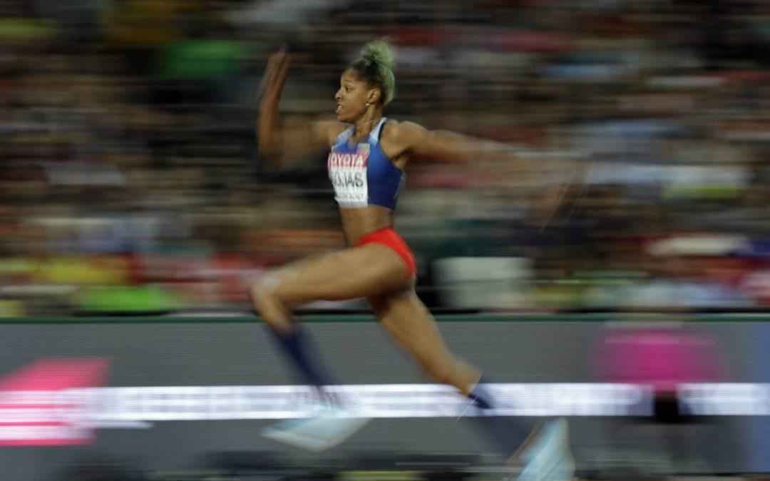Yulimar Rojas, primer oro para Venezuela en un mundial de atletismo