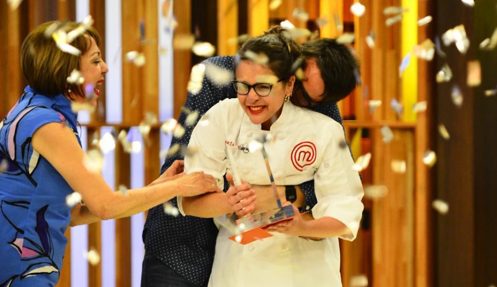 Emigra de Venezuela y se convierte en la ganadora del MasterChef