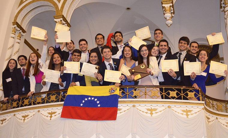 UCAB y USB obtuvieron tres premios en el Modelo de Naciones Unidas de Harvard