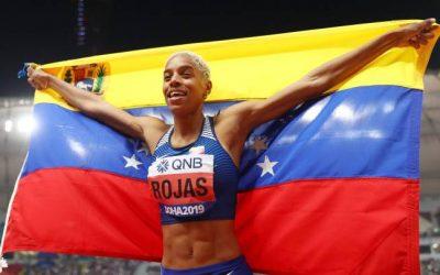 Yulimar Rojas Campeona Mundial en el evento de Qatar